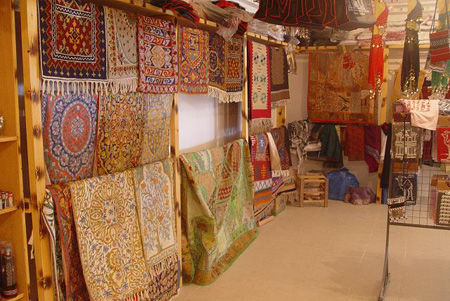 Jordanian Handicrafts Carpet Weaving