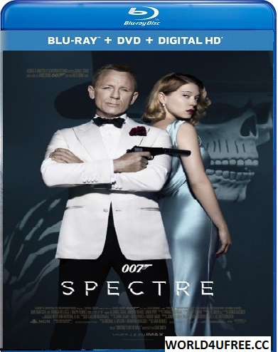 Spectre 2015 Hindi Dual Audio 720p BRRip 1.3GB hollywood movie Spectre hindi dubbed dual audio 720p brrip free download or watch online at https://world4ufree.ws