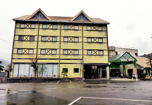 Hotel Nahari, Kochi, Shikoku.