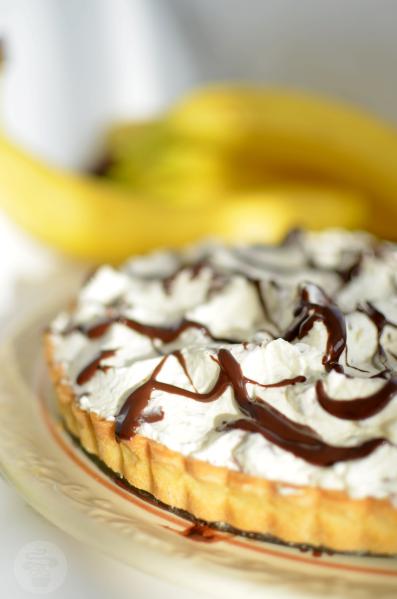 tarta z bananami