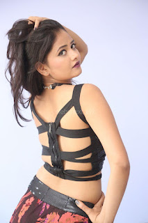 Shriya Vyas in a Tight Backless Sleeveless Crop top and Skirt 93.JPG