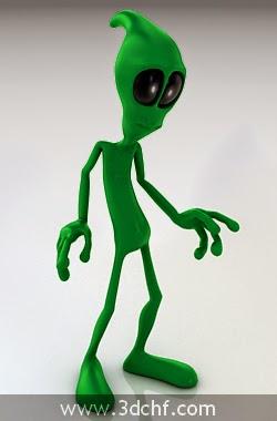 free 3d model alien