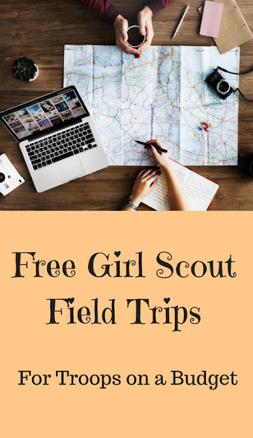 Free FIeld Trips for Your Daisy Troop - Visit a Retail Store