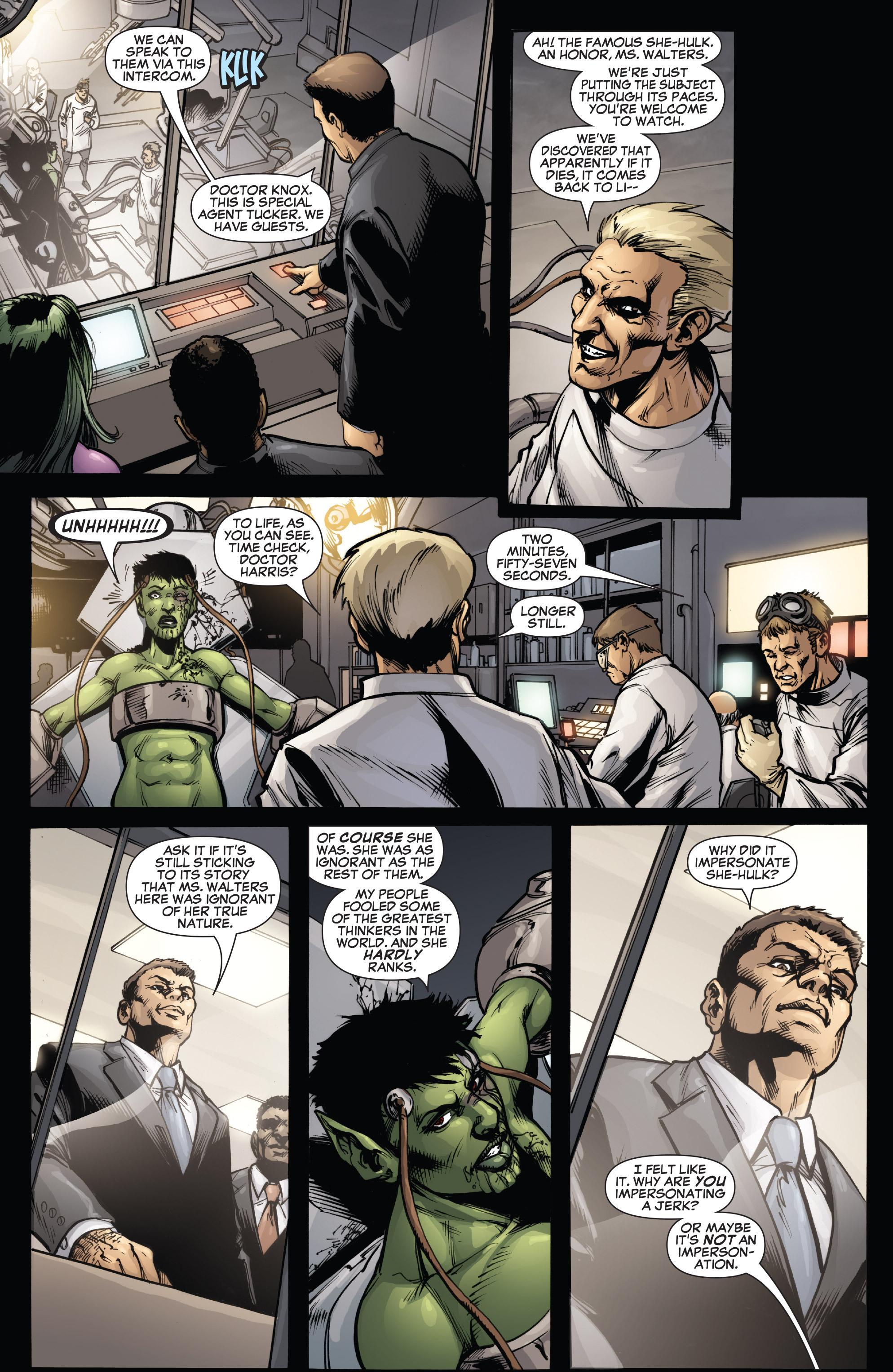 Read online She-Hulk (2005) comic -  Issue #38 - 18