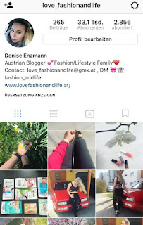Instagram love_fashionandlife