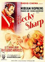 Póster Película La feria de la vanidad - Becky Sharp