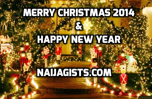 Merry Christmas 2014 And Happy New Year 2015 In ...