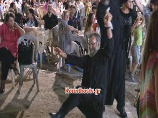 Ο μερακλής Παπάς χόρεψε το τσάμικο της Φιλιώς Πυργάκη και τρέλανε κόσμο (video)