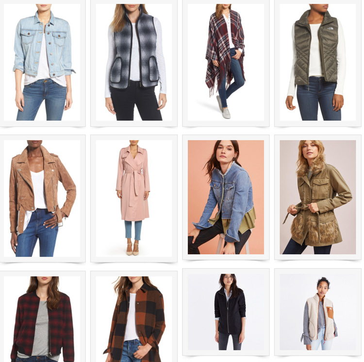 fall jackets to wear now