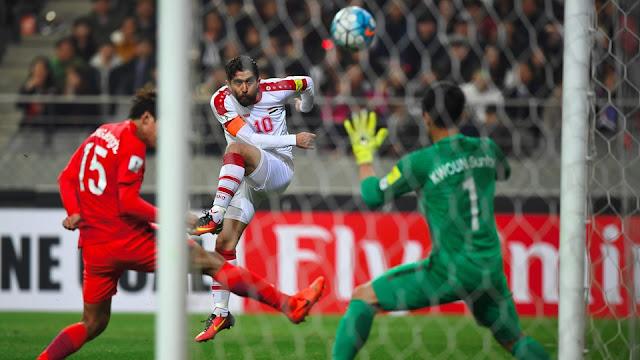 Corea del Sur 1-0 Siria en las eliminatorias Asia Rusia 2018
