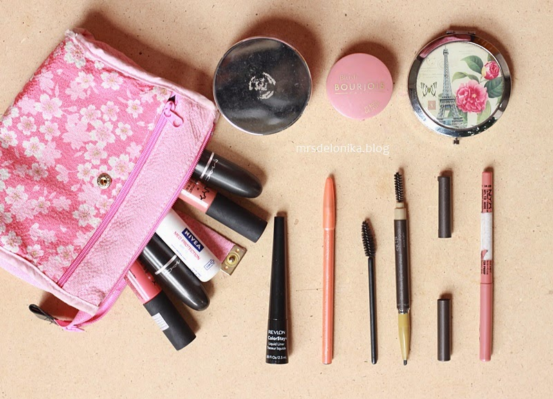 Mrs Delonika Whats Inside My Make Up Pouch