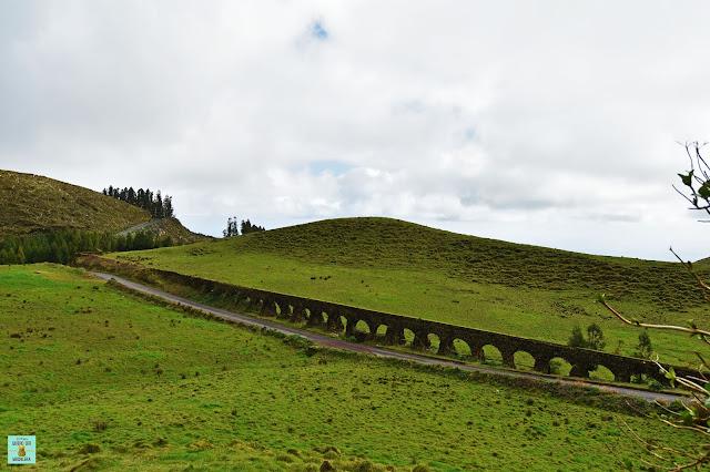 Acueducto do Carvao, Sao Miguel (Azores)