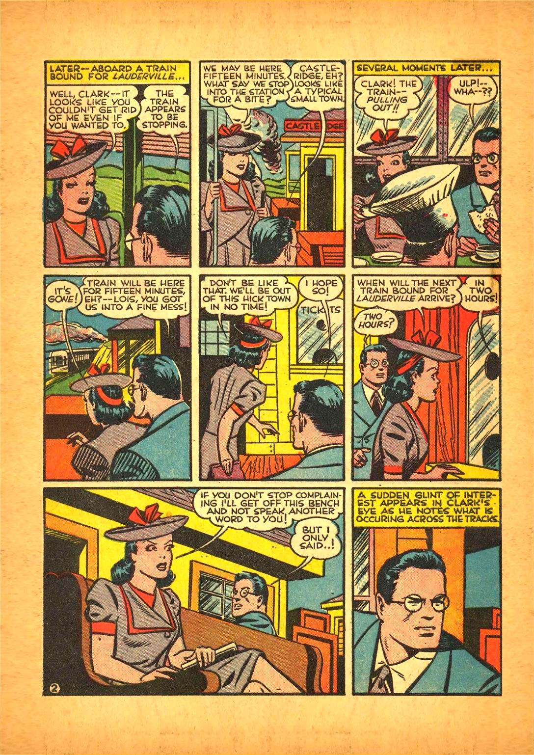 Read online Action Comics (1938) comic -  Issue #50 - 4