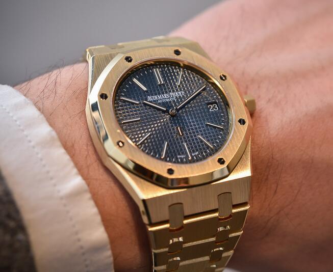 8 mm de espesor.Calidad replicas de relojes Audemars Piguet Royal Oak para  la venta. 3f0266e8c81
