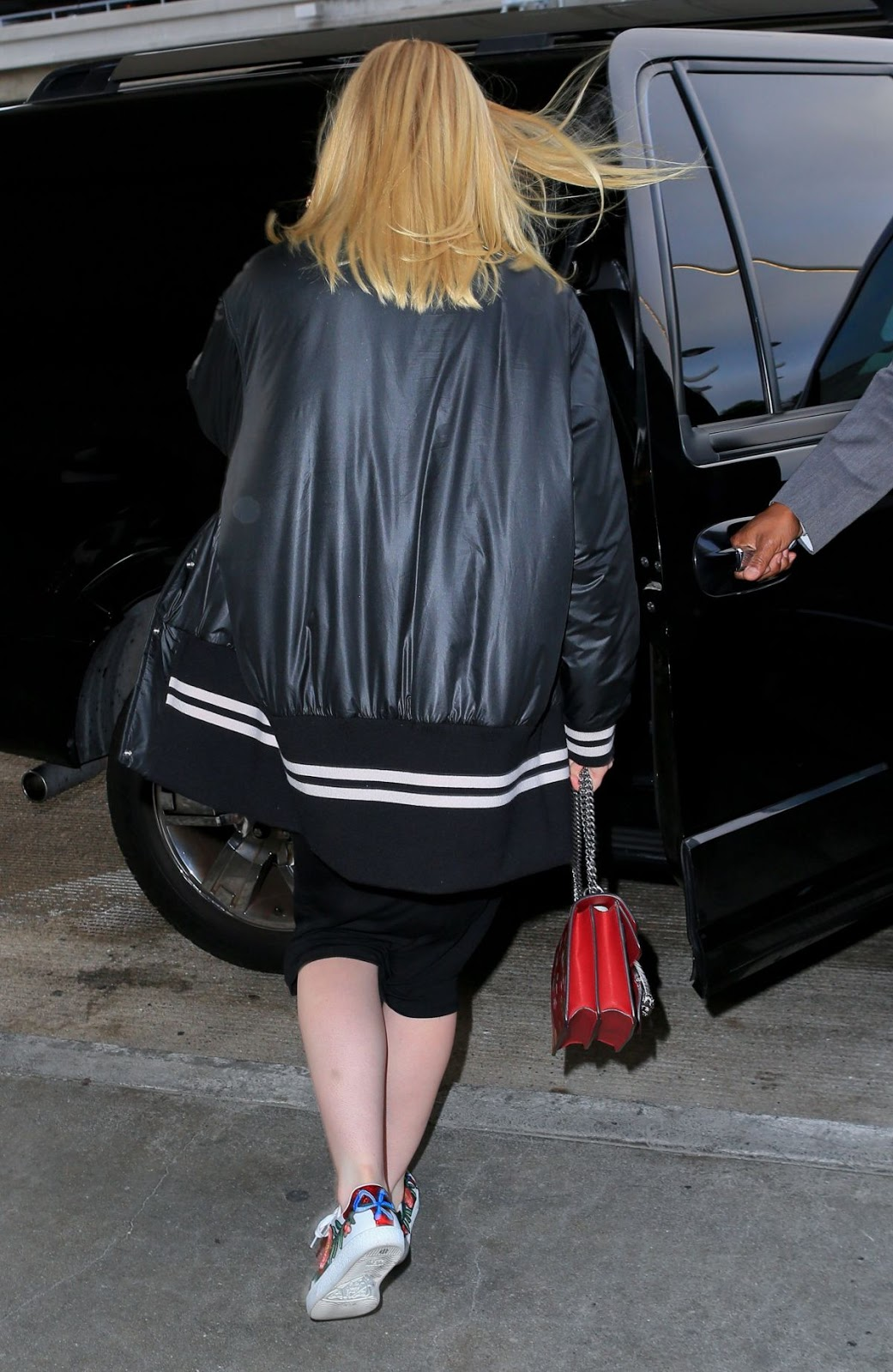 Photos of Elle Fanning At Lax Airport In Los Angeles