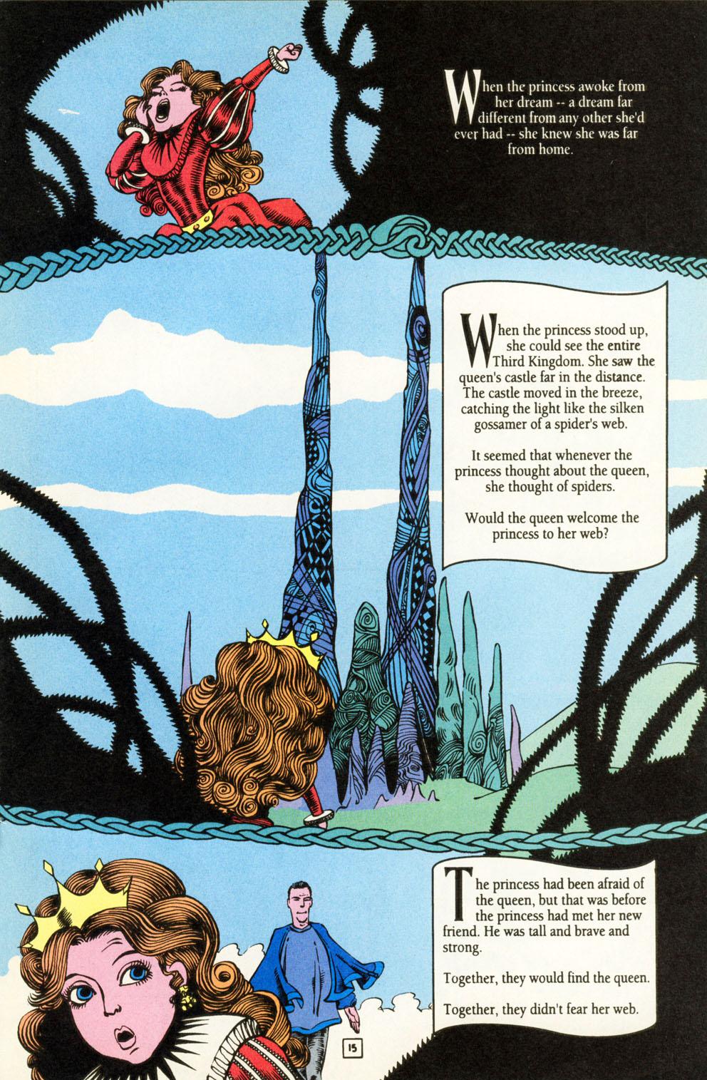 Read online Animal Man (1988) comic -  Issue #84 - 16