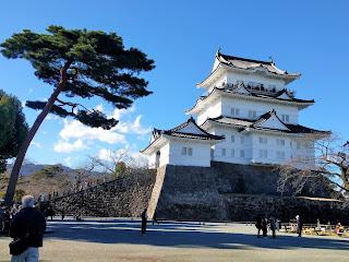 本物の小田原城