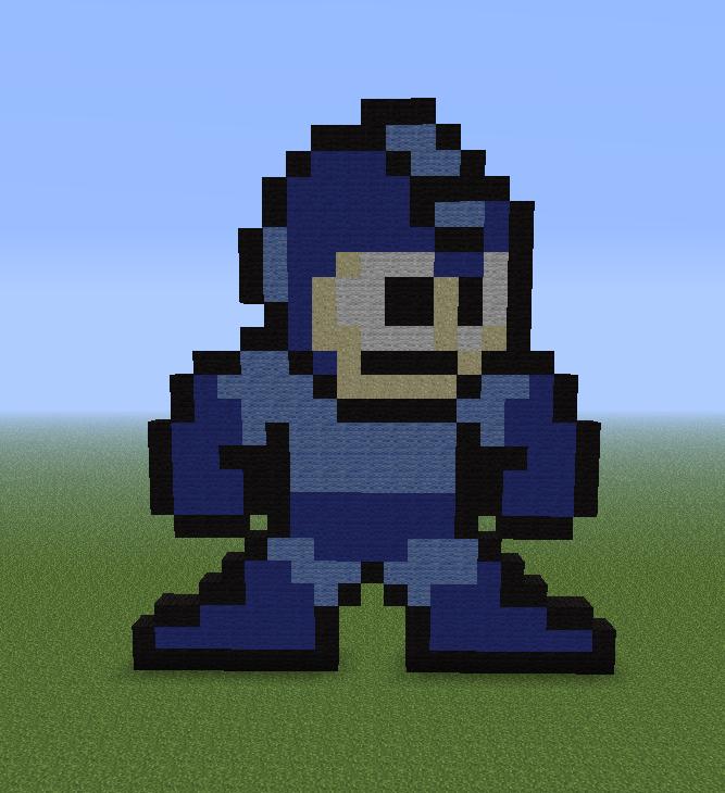 Minecraft Pixel Art Helper 2013