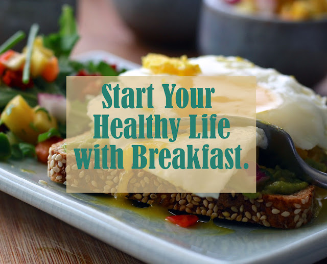 How to make a habit to start the day with breakfast,