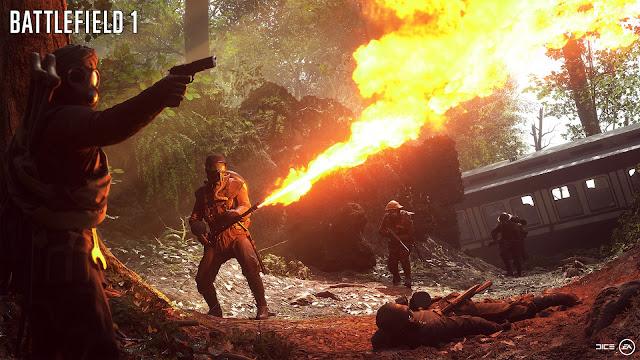 Review – Battlefield 1 flametrooper