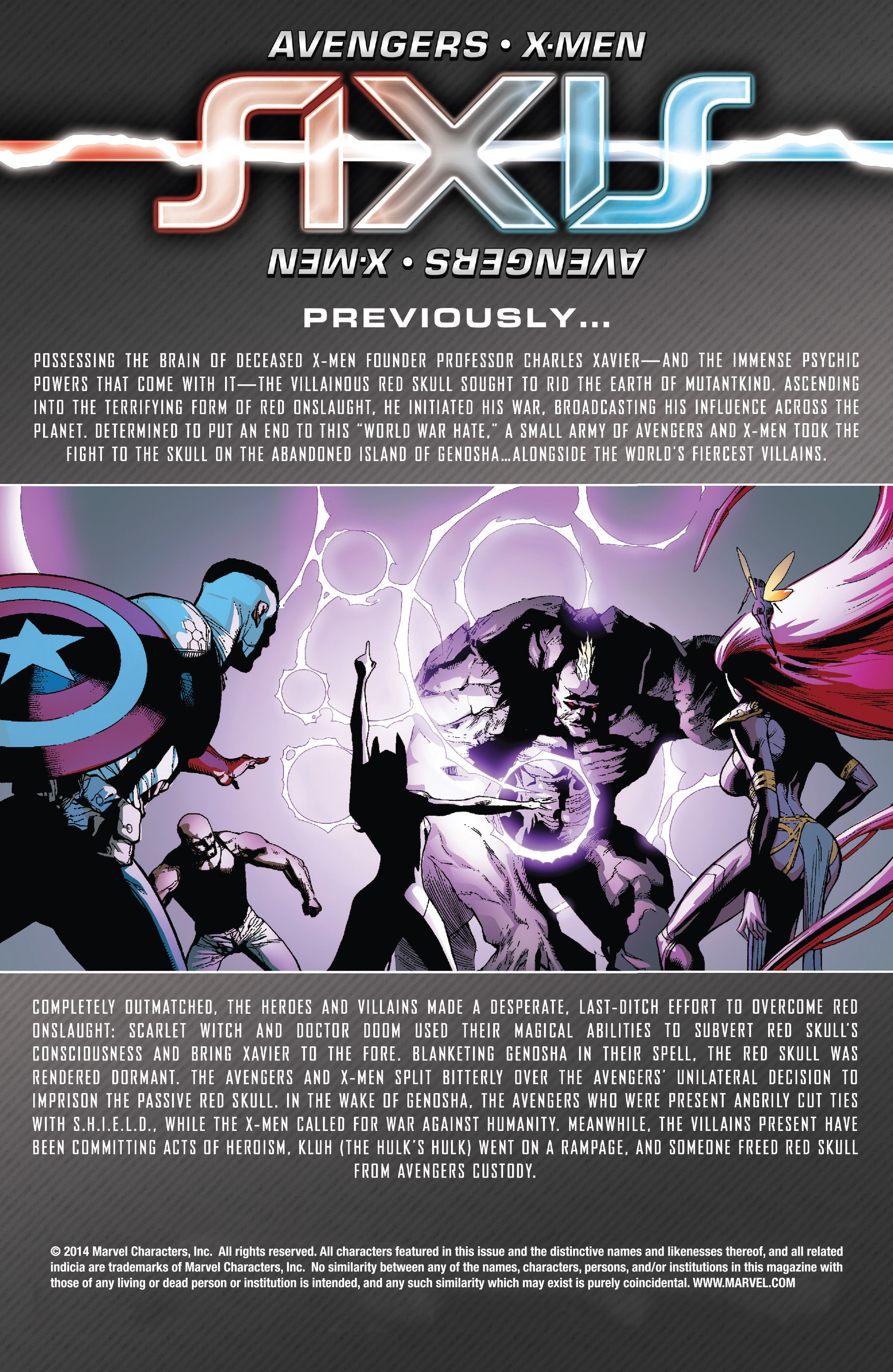 Read online Avengers & X-Men: AXIS comic -  Issue #5 - 2