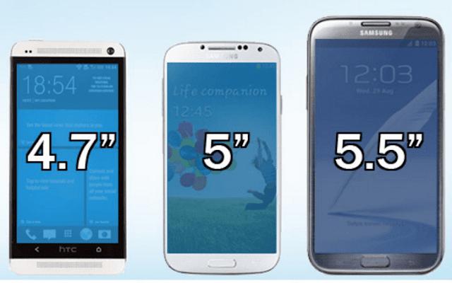 3.  Ukuran Ponsel terlalu besar - Samsung Galaxy Note 7