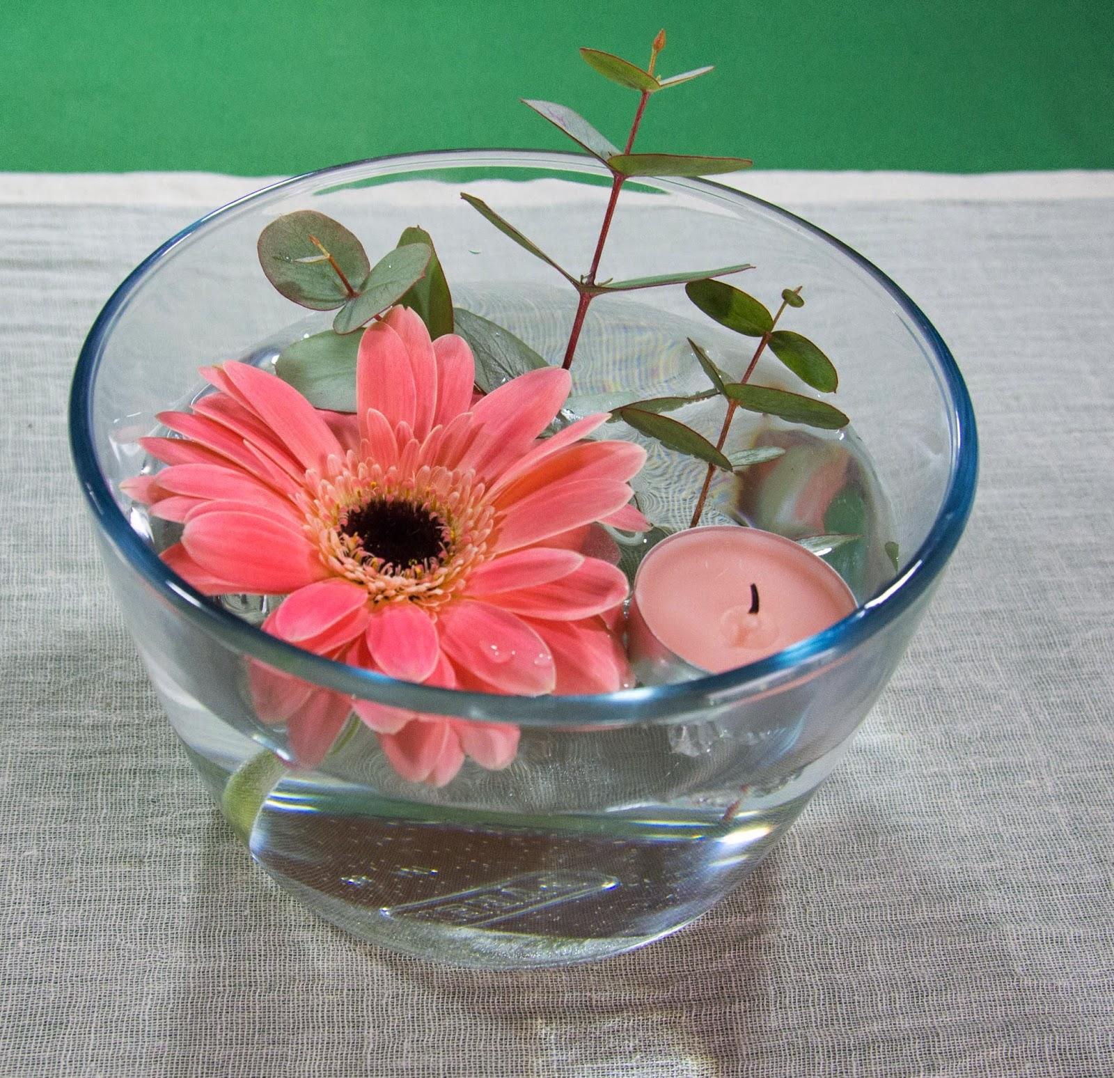 Qui n dijo boda diy ideas para centros de mesa i - Centro de mesa con flores ...