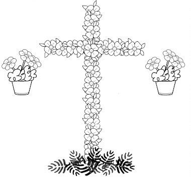 El Rincón De Los Peques Cruces De Mayo Para Colorear