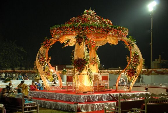 latest fashion mandap designs for marriages
