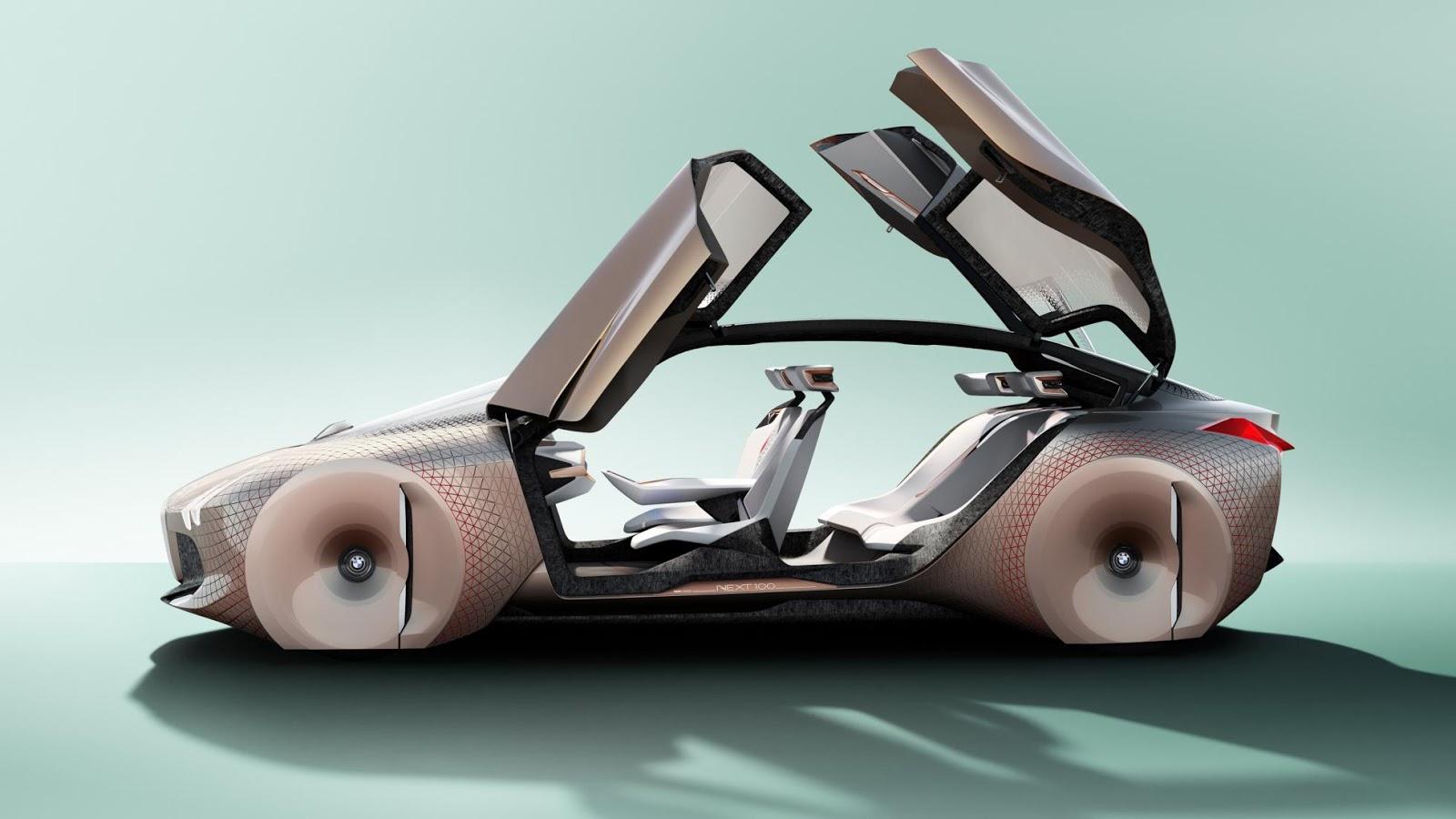 100 năm nữa liệu BMW 'Vision Next 100' concept có như thế này không?