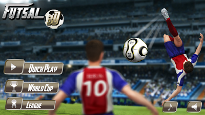Download Futsall Football 2 Mod APK v1.3.1 Update (Futsall Super 3D) Terbaru 2017 Gratis