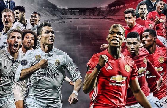 Live Streaming Piala Super Eropa 2017 Real Madrid vs Manchester United