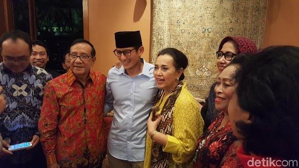 Manuver Sandi Kunjungi Petinggi Golkar Dinilai Bisa Memecah Mesin Partai Pendukung Jokowi