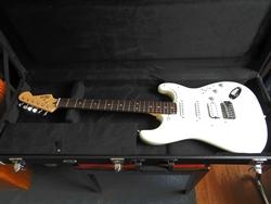 Gitarre im Bett...