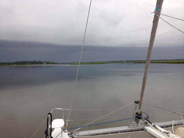 Sailing Amelia River