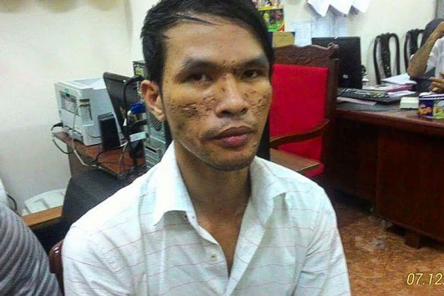 Nguyen Tangdun was arrested in Ho Chi Minh city on Wednesday night for allegedly abusing a young boy. Photo supplied.