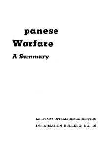 Japanese Warfare: A Summary