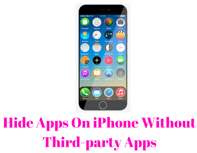 Hide apps on iphone by techgot.com