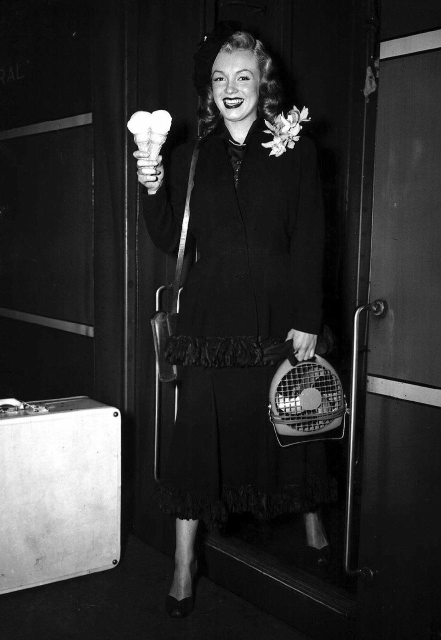 Train Bellies: Marilyn Monroe's Daily Diet, Weight loss plan