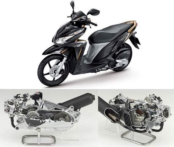 New Honda Vario 125 ACG starter Make Use System Engineering