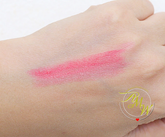 a swatch photo of  Laneige Two Tone Lip Bar in Pink Step (No. 6)