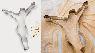 Funny Jesus baking cookie cutter picture