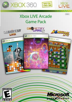 Xbox Live Arcade Game Pack [Jtag/RGH] - Download Game Xbox