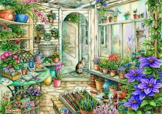 картина художницы Ким Джлбс