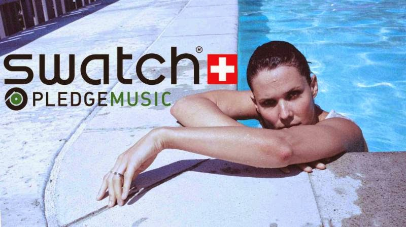 Swatch Partnering with PledgeMusic