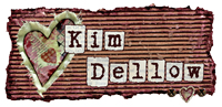 Kim Dellow blog page signature