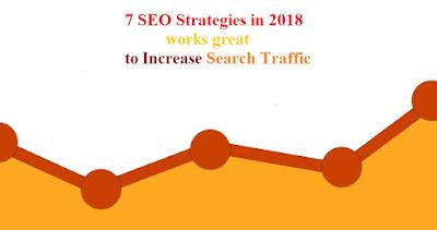 7 seo strategies 2018