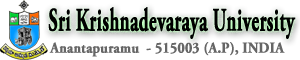 Sri Krishnadevaraya University Naukri Vacancy