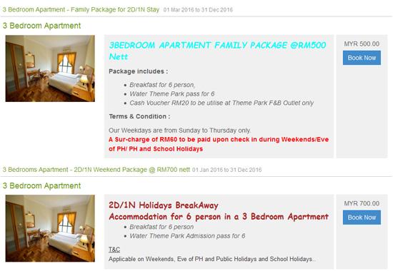 Promosi Gold Coast Malacca International Resort