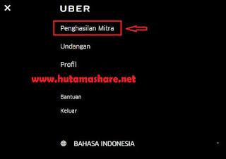 Cara Melihat Laporan Penghasilan Uber